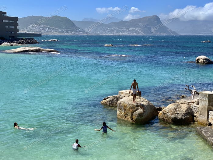 Beautiful beach just near penguins colony at Cape Town 🌟Nominated🌟