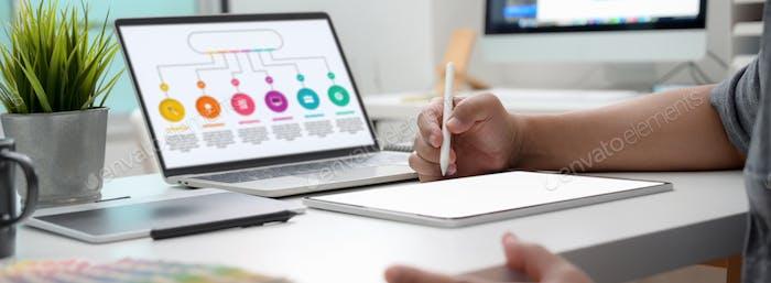 analysis; business; businessman; communication; computer; creative; creativity; design; designer;