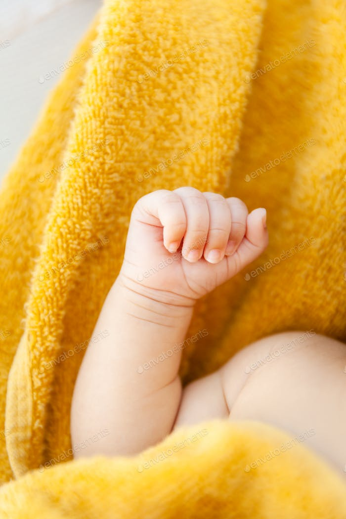 Newborn fist