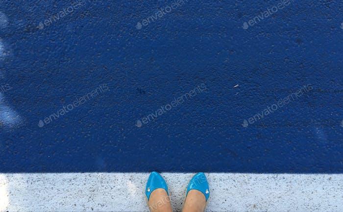 Color: azul