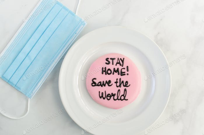 Stay home save the world