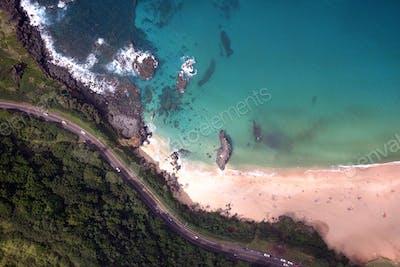 O'ahu aerial view