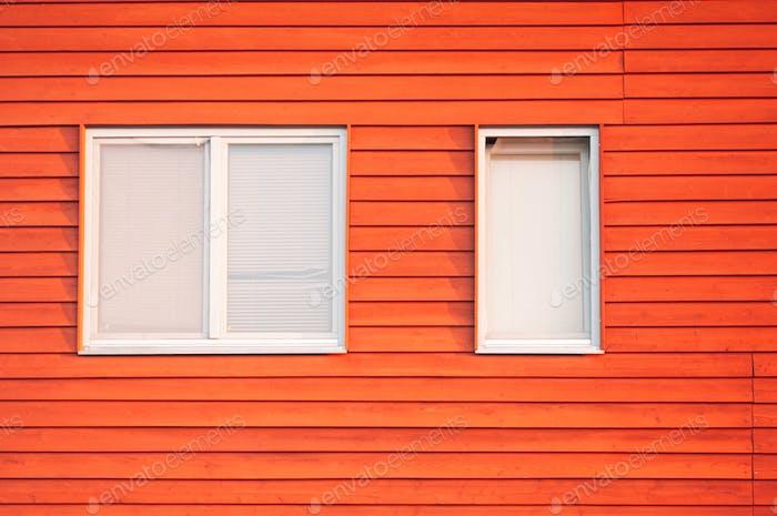 Orange Tönung...