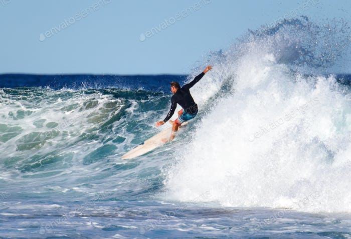 Surfen und Freiheit