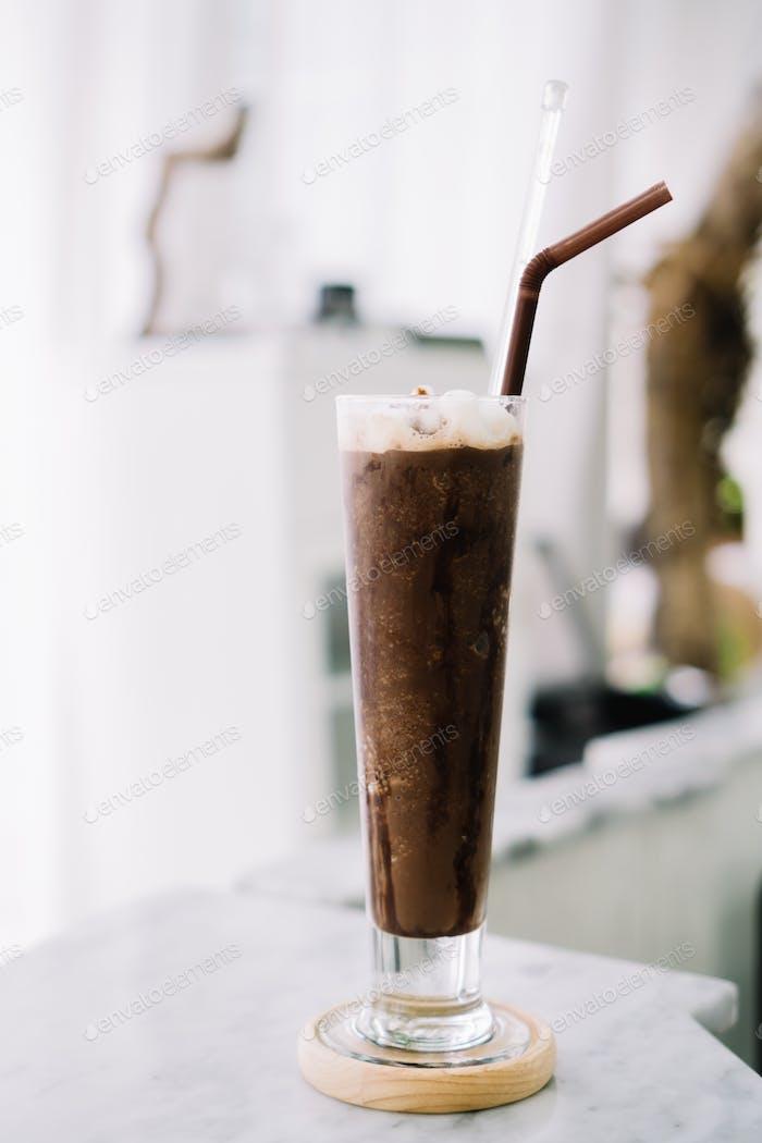 Eisgeschokolade Frappe