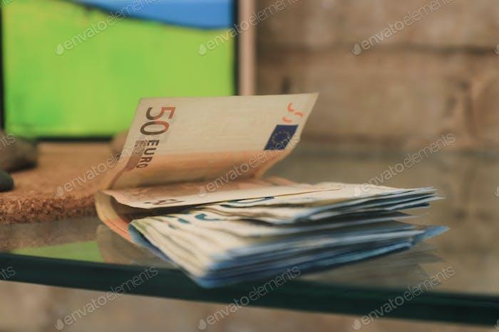 Cash - 50 euro
