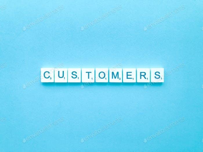 клиентов
