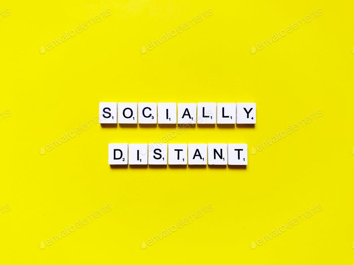 socially distant. social distancing.