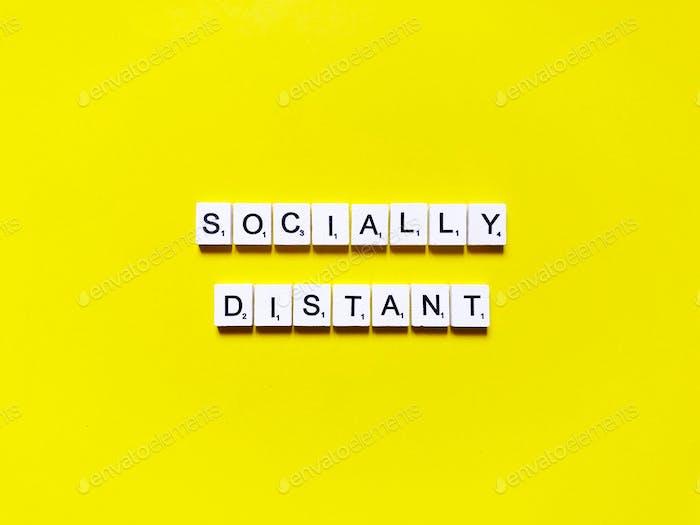 socially distant. social distancing.