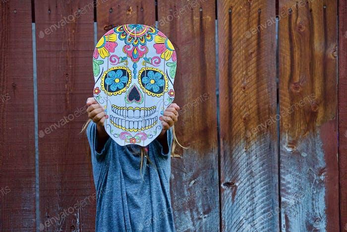 Niedliches Bild feiert Dia De Los Muertos, oder Dia Muertos, Tag der Toten, Día de Muertos, tonyth