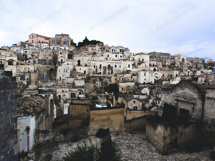 City of Matera, Italy. European Capital of Culture 2019