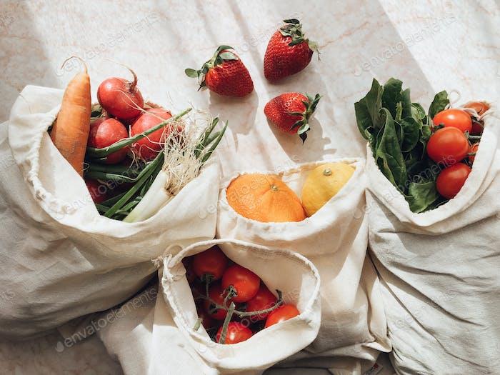Plastic free groceries