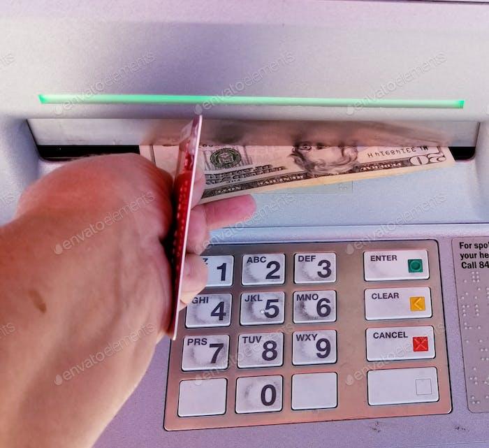 Schnelles Bargeld! ATM!