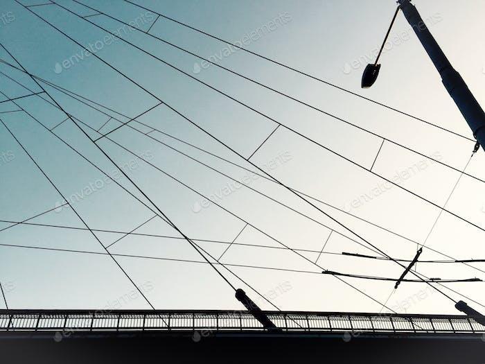Under the wires