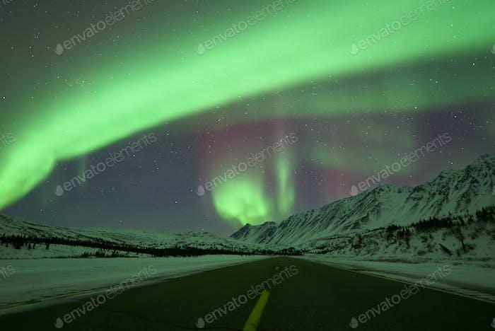 road to the Aurora Borealis
