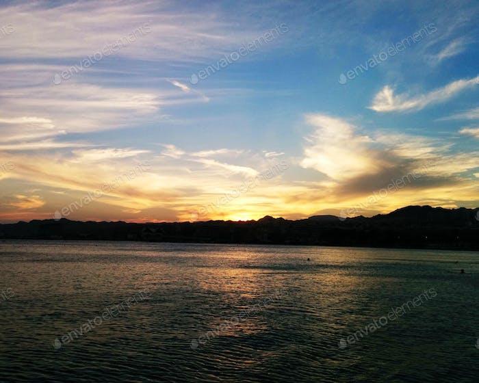 Sunset. Israel. Eilat