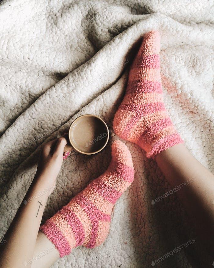 Coffe+socks