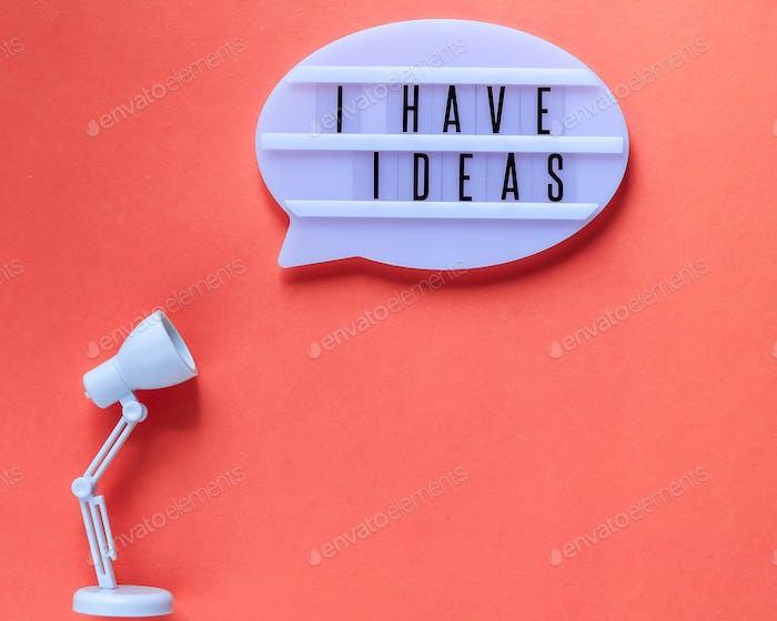 Tengo ideas