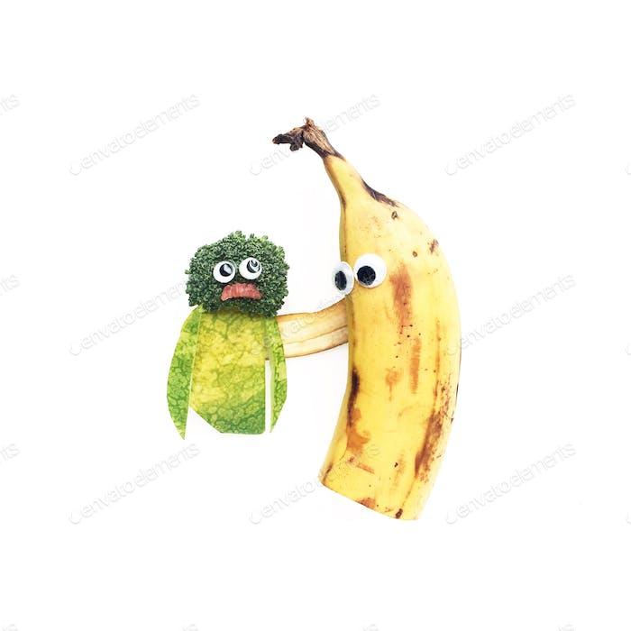 Wie man einen guten Freund zu erkennen? Sie feuern Melon-Coli Kumpel auf, egal wie verrottet sie sich selbst fühlen.