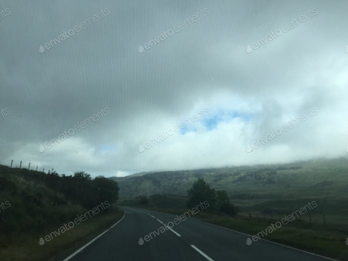 Traveling in North Wales