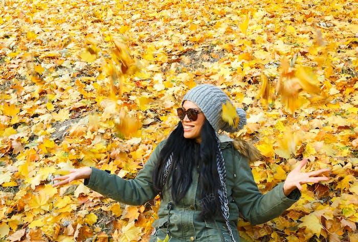 Joyful fall