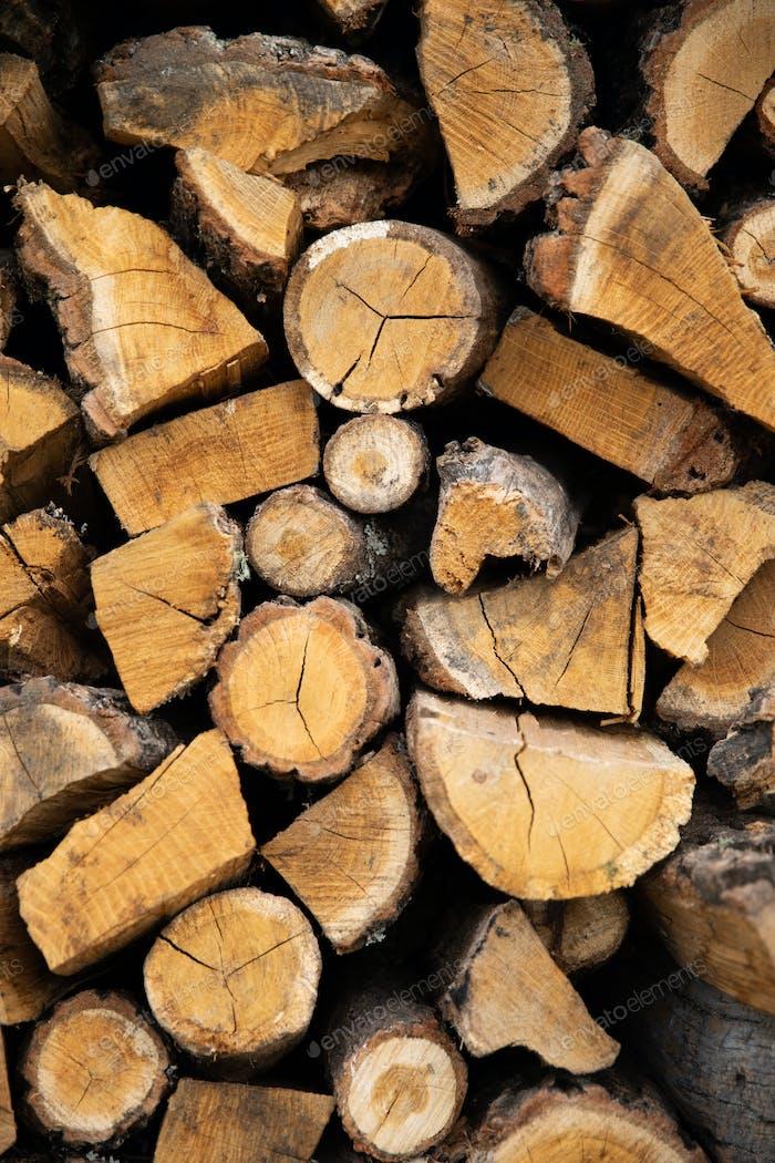 Holz Brennholz Holz