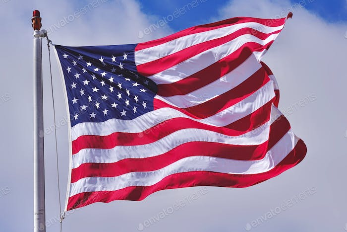Land of the free and the home of the brave.