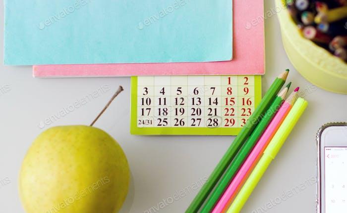 Ежедневная рутина и календарь