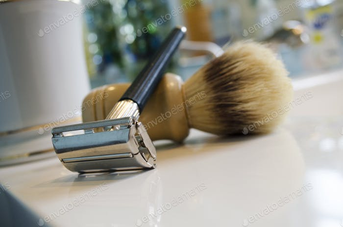 Old fashioned shaver