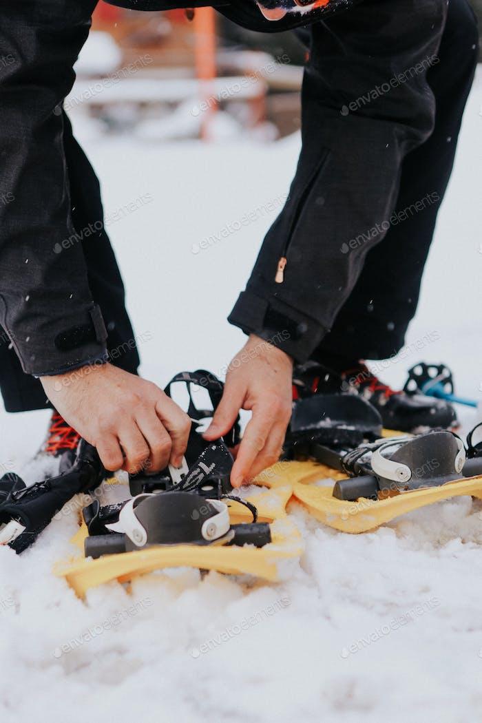 snowshoeing, Switzerland
