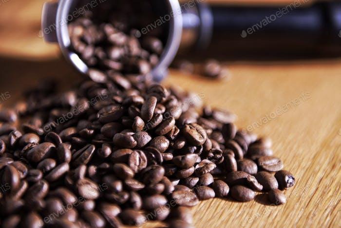 Kaffeebohnen...