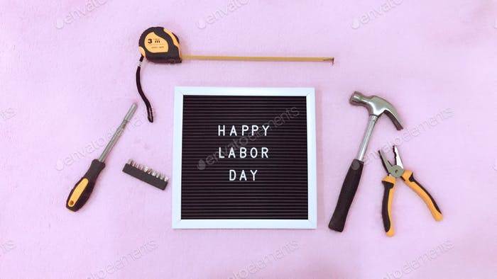 Happy Labor Day ⚒ Labor Day is a United States national holiday