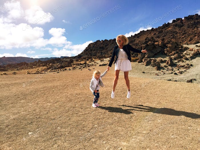 Vulcan Teide / Tenerife / family