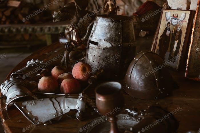 mittelalterliches Stillleben