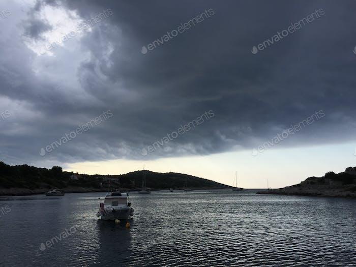 Stormy sky above the Adriatic sea 💰