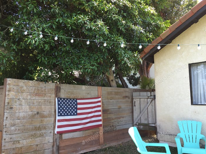 Patriotic American decoration