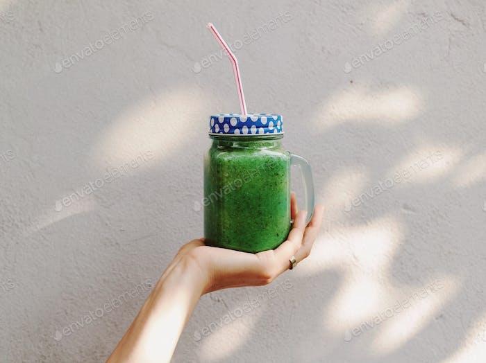 Green freshness...