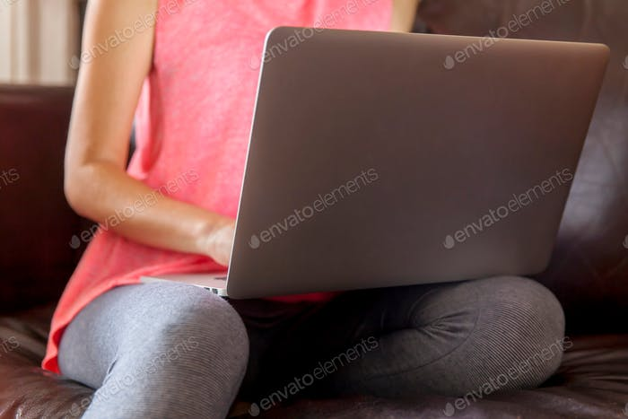 Working at home, freelancer job concept dynamic workplace, technology, laptop, online, using laptop,