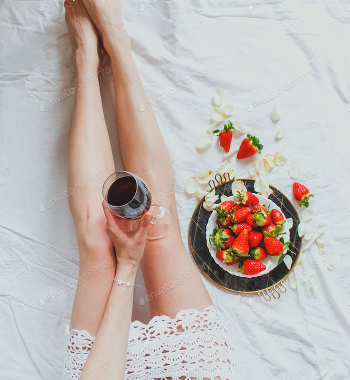 Chill with wine