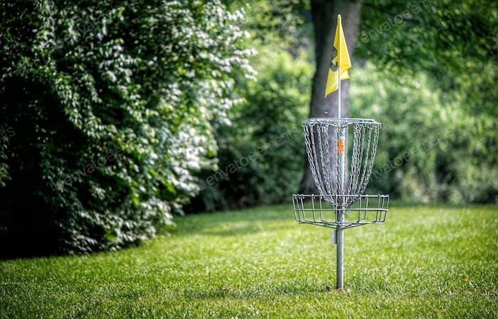 Frisbee Disc Golf