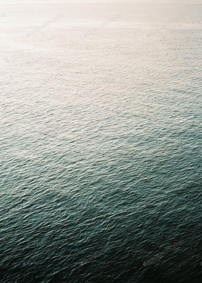 Portrait oriented photo of the ocean