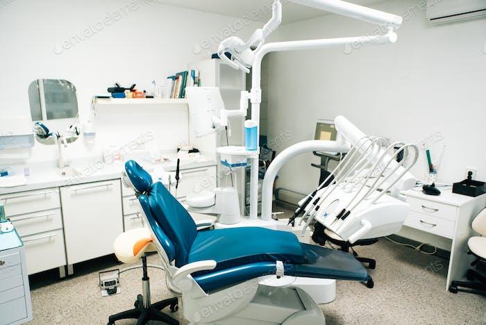 Equipos dentales en clínica dental