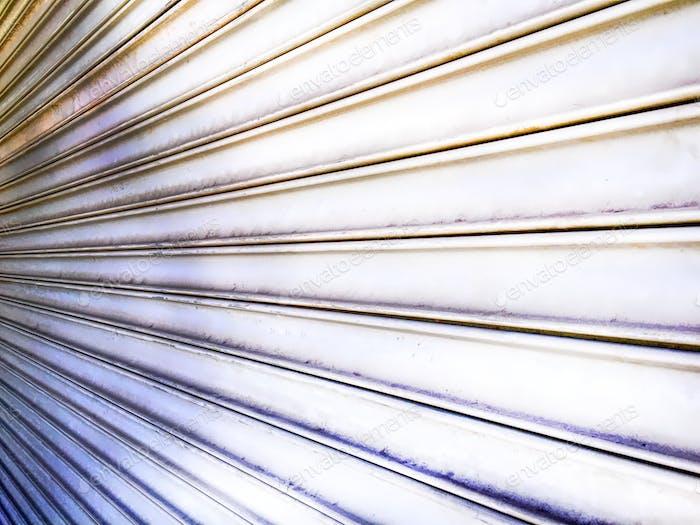 Perspective Metal Roll-Up Door