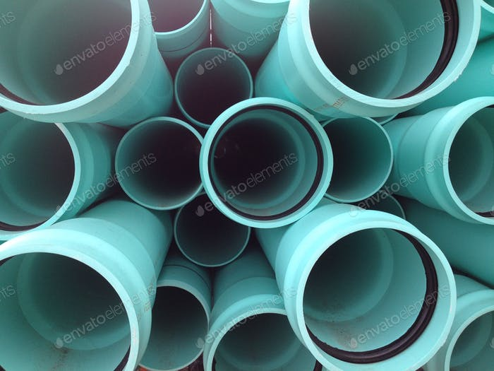 Turquoise Pipes
