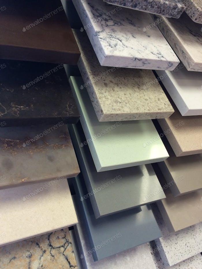 Innenarchitektur durch Granit