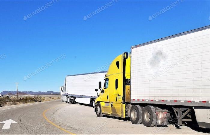Trucking! Big Rig Semi Trucks!