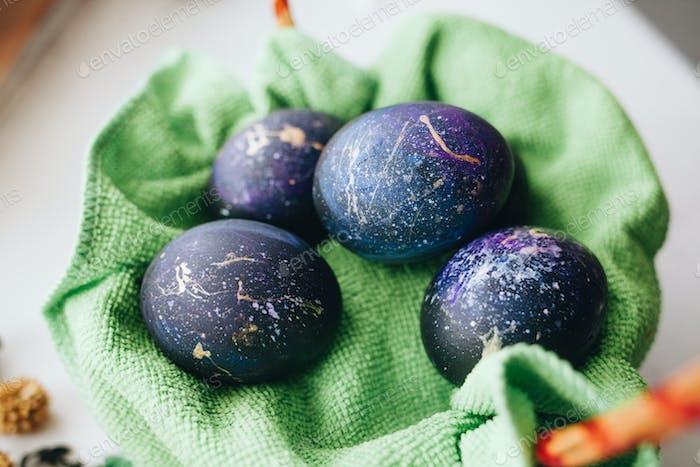Easter cosmic eggs