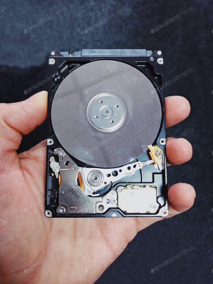 Componentes de disco duro...