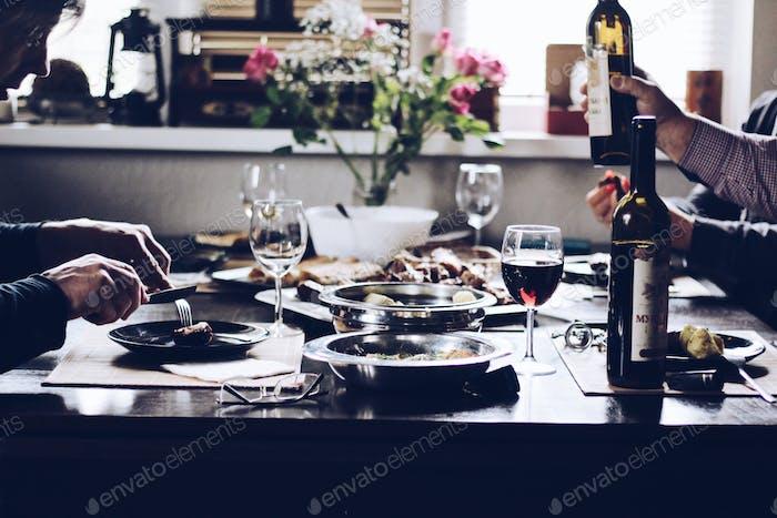 Abendessen-Zeit