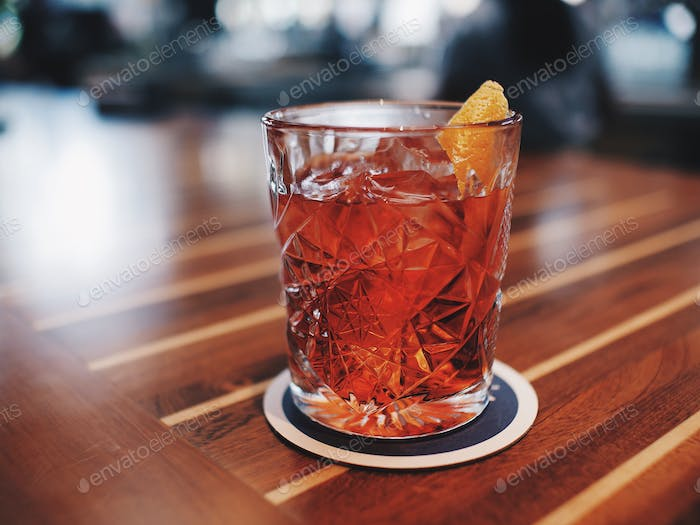 Negroni in the morning